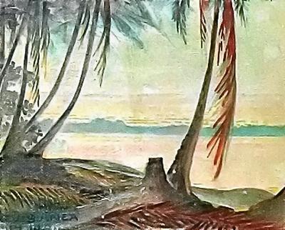 Max Dauthendey-Bucht von Friedrich-Wilhelmshafen - Neu-Guinea